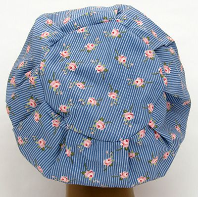 TF610 - Touca Estampa Floral   - Atelier Babinski