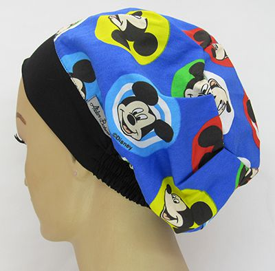 TF624 - Touca Estampa Mickey  - Atelier Babinski