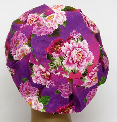TF630 - Touca Estampa Floral  - Atelier Babinski