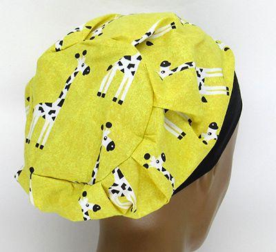TF677- Touca Estampa Girafas  - Atelier Babinski