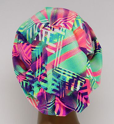 TF712 - Touca Amini Folhas  - Atelier Babinski
