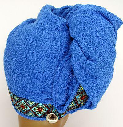 TC004 - Toalha para secar cabelos  - Atelier Babinski