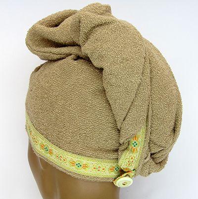 TC005 - Toalha para secar cabelos  - Atelier Babinski