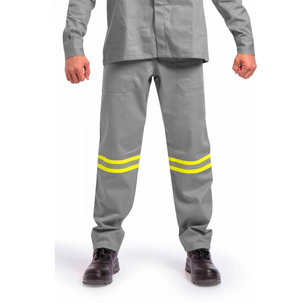 Calça Ati Chama Fire DX NR-10 com Faixa Refletiva Risco 2 Guardian CA 30977