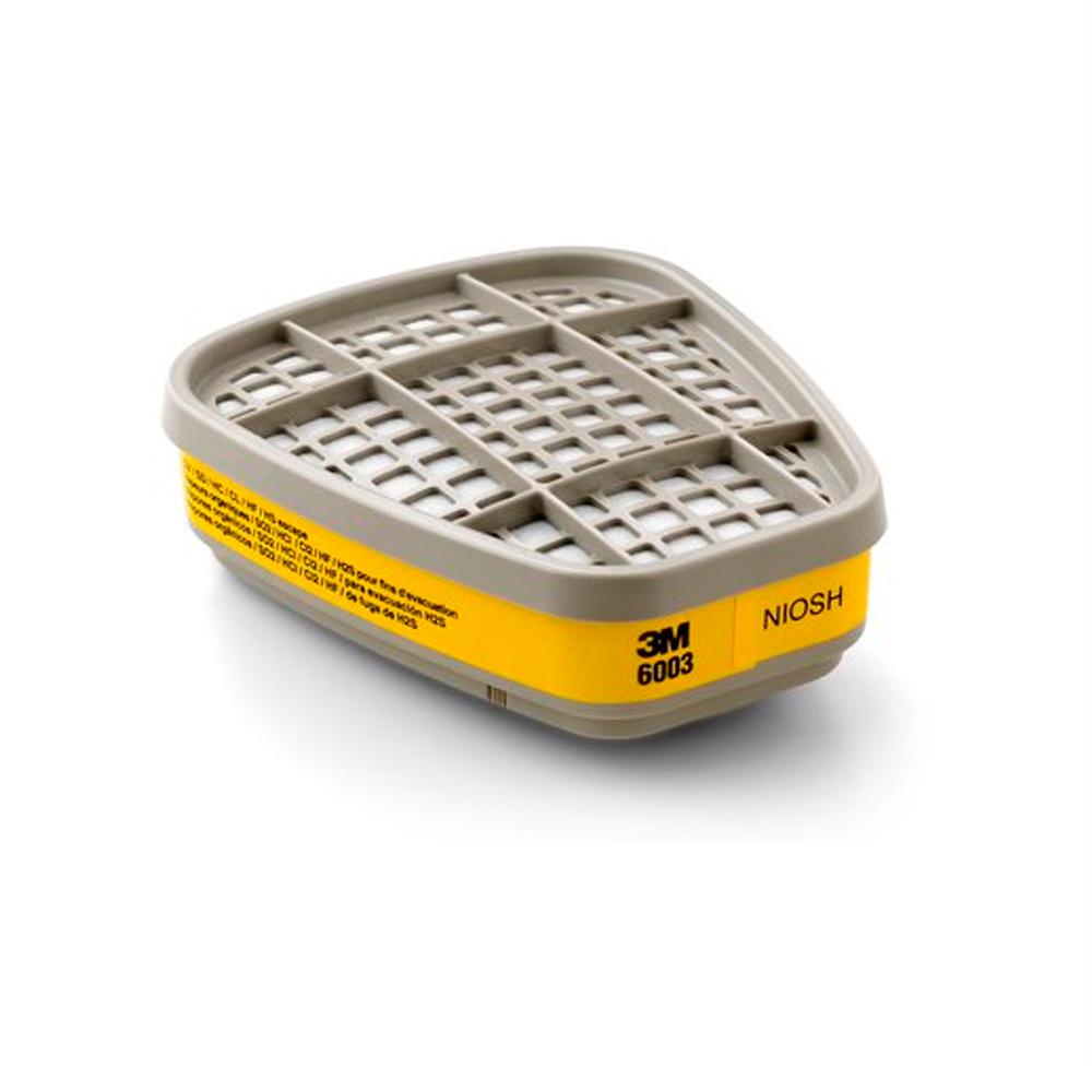 Cartucho Quimico Filtro 6003 VO/GA 3M Emb. c/ 2 Und.