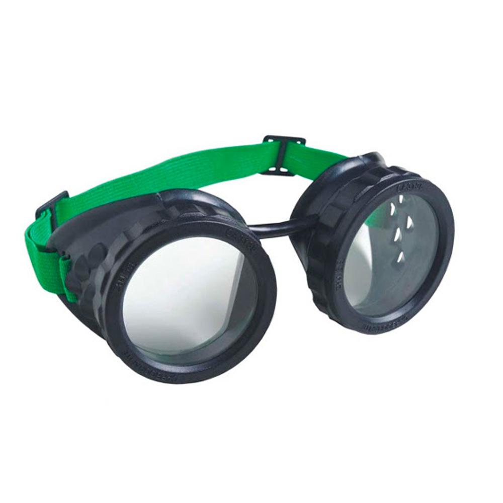 Oculos de Solda Macariqueiro Lente Redonda 50MM Carbografite CA 3135