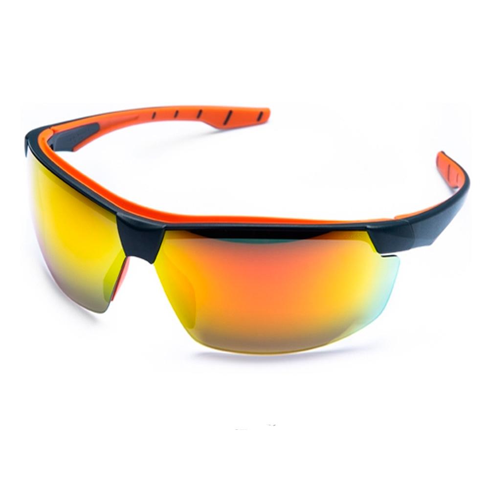 Oculos Neon Espelhado Vermelho Esportivo AR/AE/UV STFVS201840 STEELFLEX CA 40906