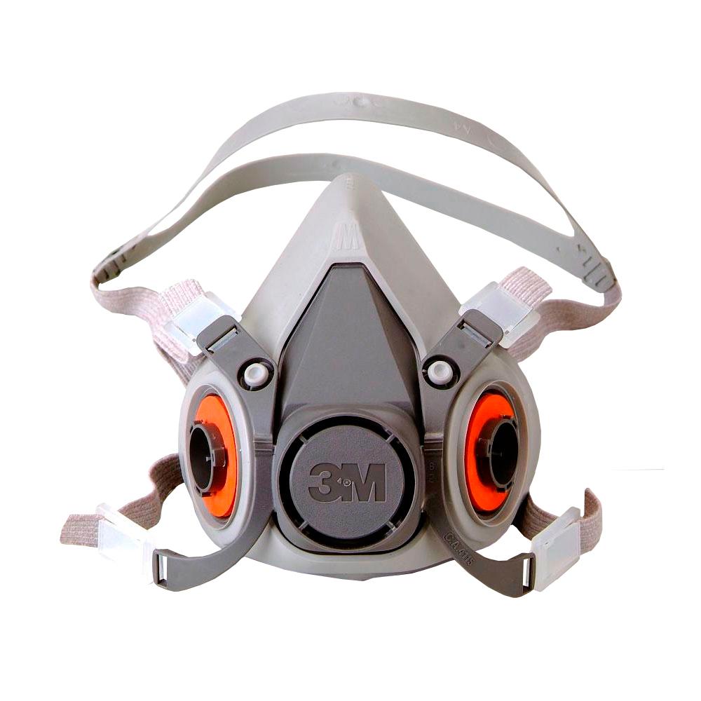 Respirador Tipo Mascara Semi Facial Reutilizavel Serie 6200 3M CA 4115