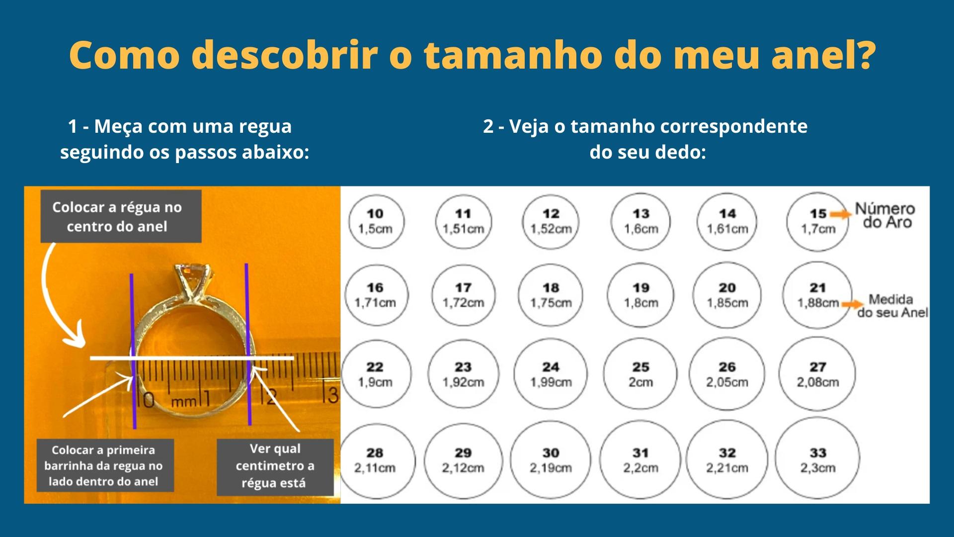 Anel Solitário Garras - Cod 238