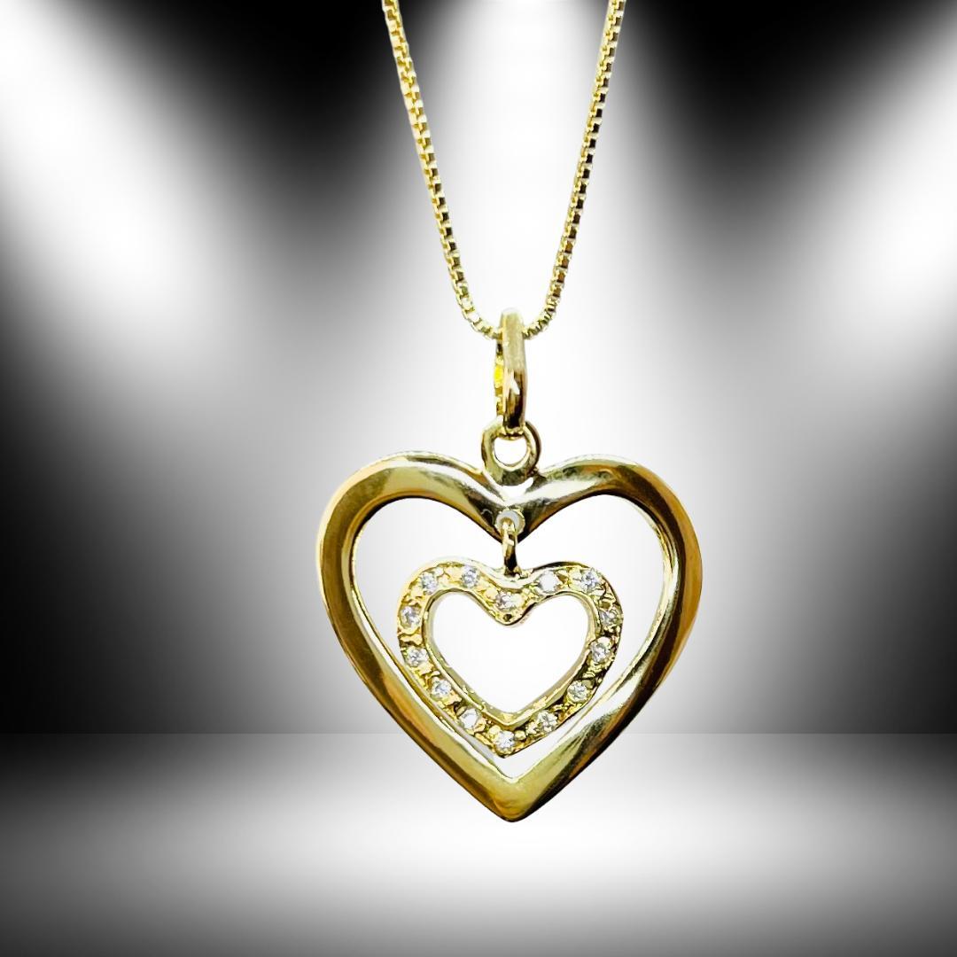 Cordão pingente Corações