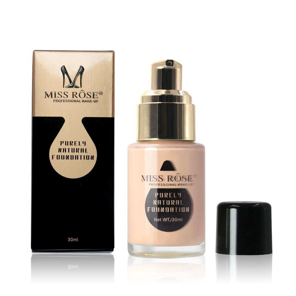 Base Purely Natural Foundation MISS RÔSE