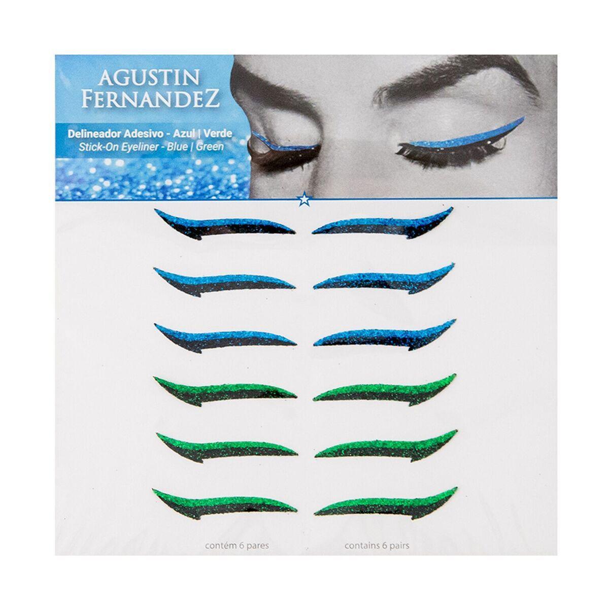 Delineador Adesivo modelo Clássico Color Blue/Green
