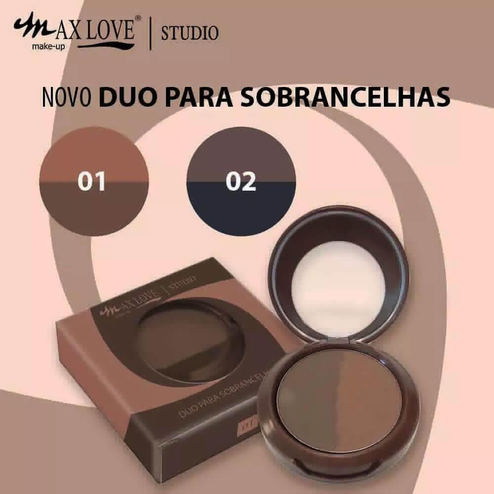 Duo Para Sobrancelhas Sombra Max Love 4g - 01