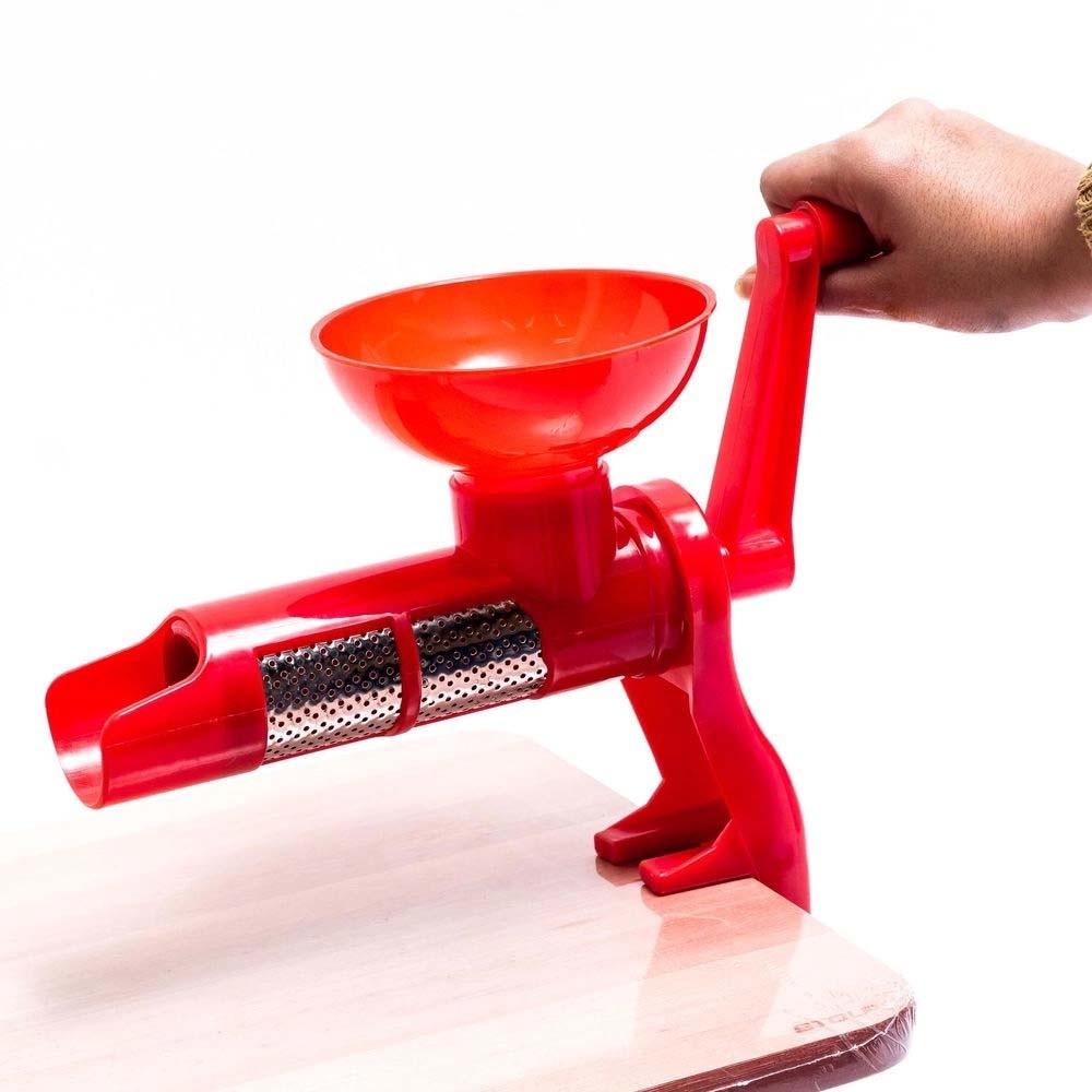 Maquina Moedor Manual P/ Molho de Tomate Suco Frutas - 123 Util