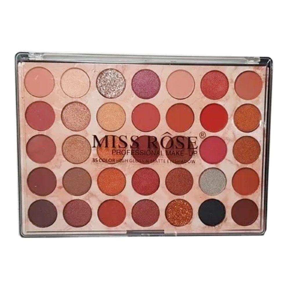 Paleta de Sombra COLORFUL 35 Cores Miss Rosê 081N5
