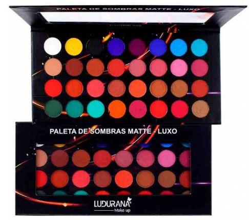 Paleta De Sombra Matte Luxo 32 Cores / Ludurana