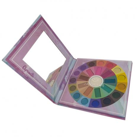 Paleta de sombras Jasmyne Chromatic 24 cores