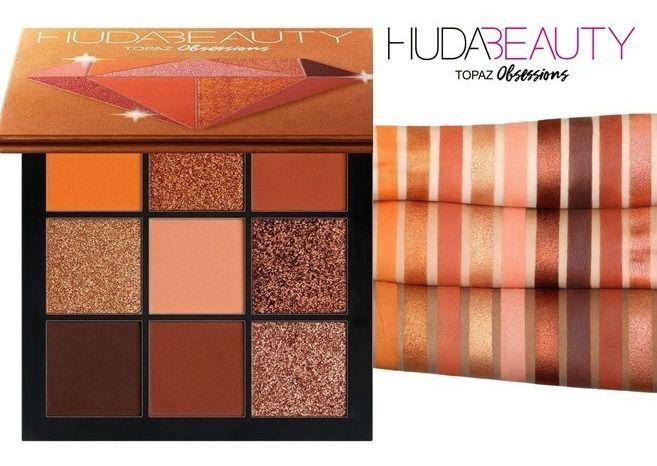 Paleta Topaz Obsessions Beauty