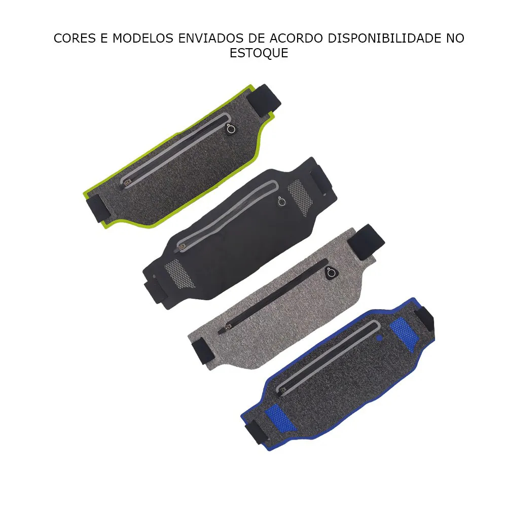 Pochete Ultra Fina Cel Academia Caminhada Corrida Passeio Q1485