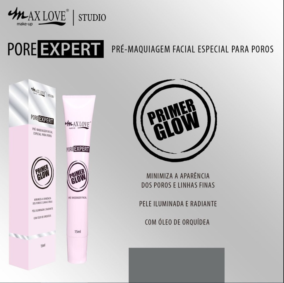Primer Glow - ESPECIAL PARA POROS - MAX LOVE