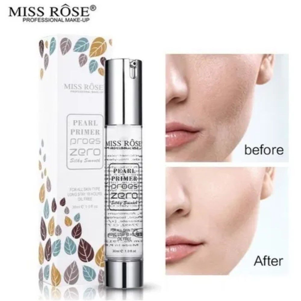 Primer Pearl Disfarce Poros Miss Rôse Professional