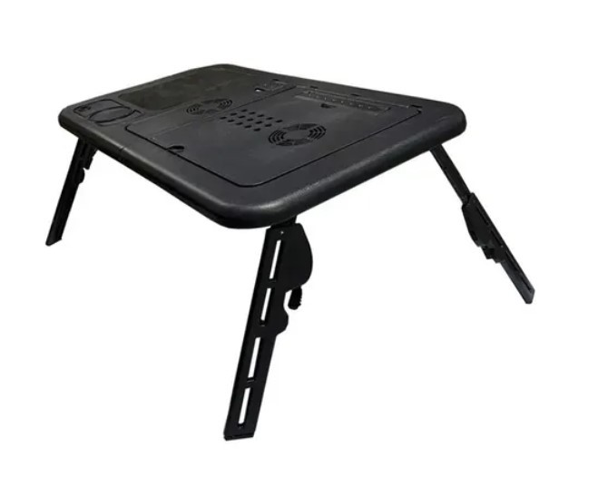 Suporte P/ Notebook Cooler Mousepad Usb Tipo Mesa Cama