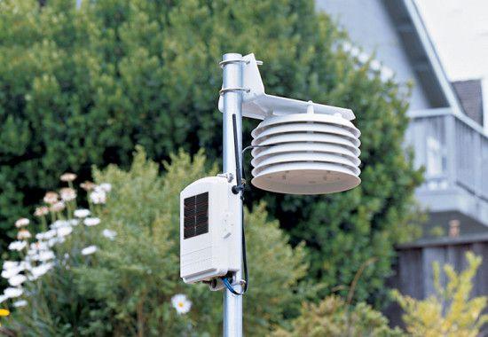 Estação de Temperatura e Umidade do Ar - Sem fio