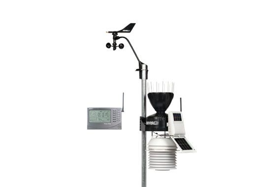 Estação Meteorológica Davis Vantage Pro2 - com ventilação forçada - 300 metros