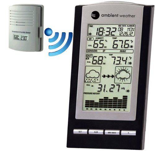 Estação Meteorológica Portátil Ambient Weather - WS 1171B