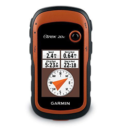 Etrex 20X - GPS Portátil, Visor 2.2', Rede Glonass, 4 GB de memória interna