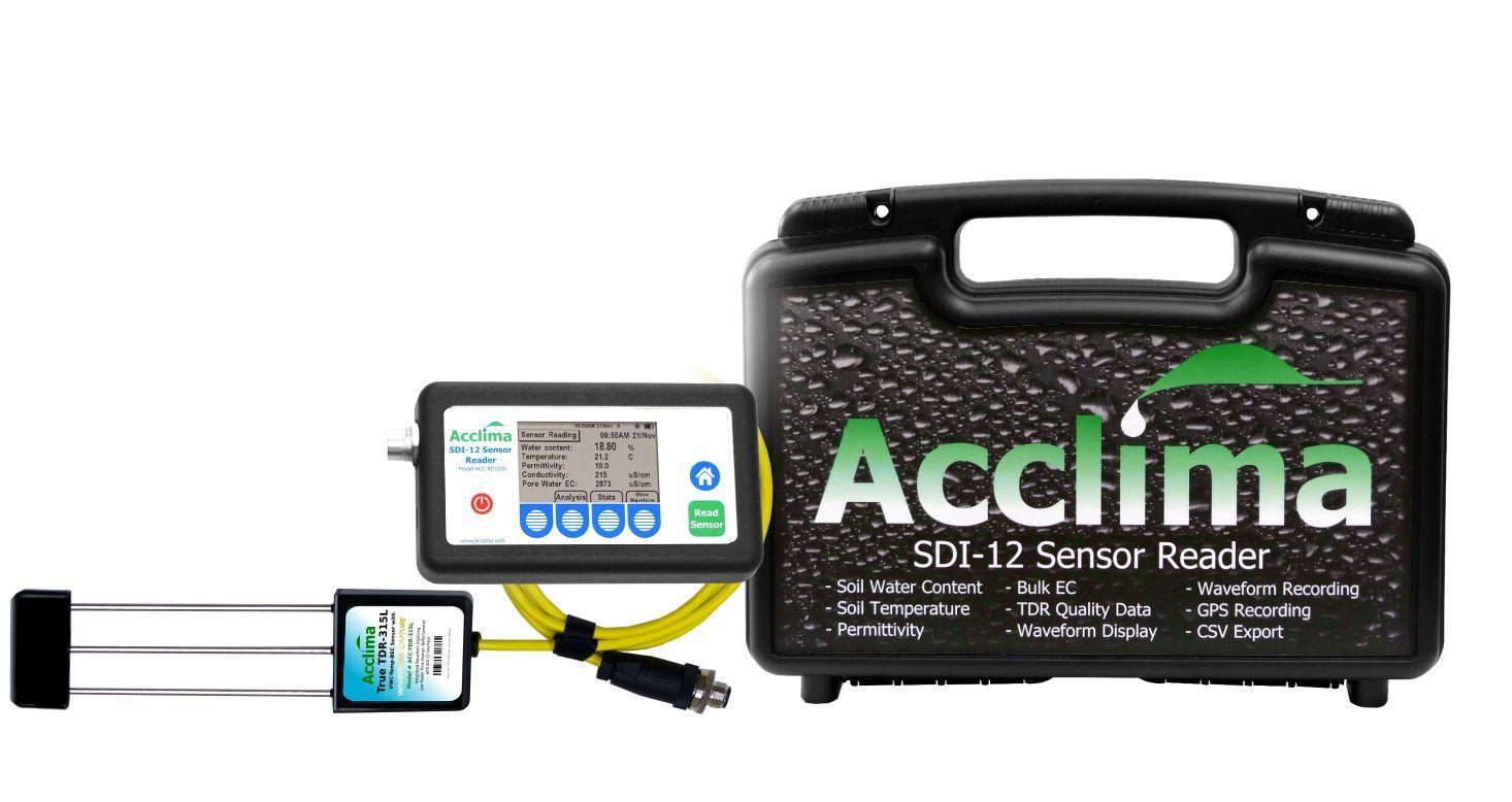Kit Portátil para Medição de Solos, com GPS Acclima
