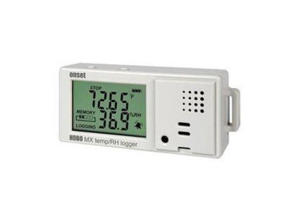 Termo-Higrômetro Digital Hobo com Data Logger MX1101