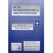 ACTA Nº 85. ANO XXXIII - Nº 2. JULIO/DICIEMBRE, 2012, PP. 5-8