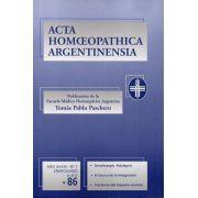 ACTA Nº 86. ANO XXXIV - Nº 1. ENERO/JUNIO, 2013, PP. 5-8