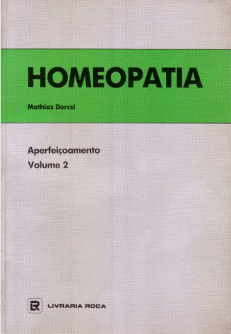 HOMEOPATIA - APERFEIÇOAMENTO VOLUME II