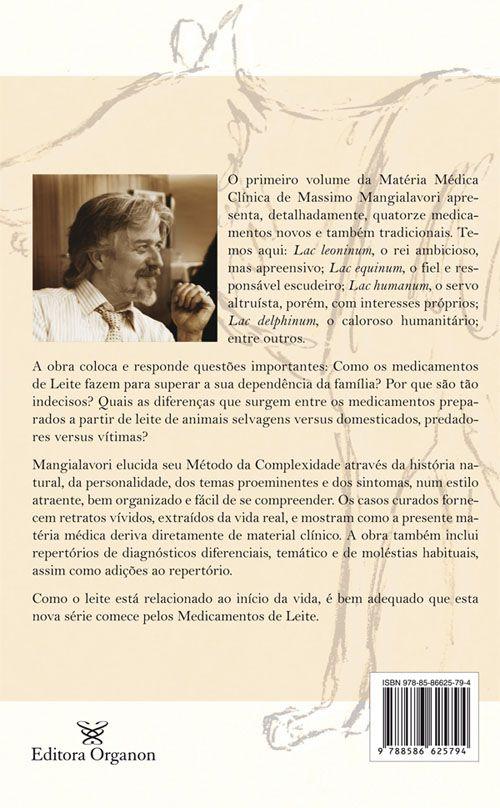 MATERIA MEDICA CLINICA - OS MEDICAMENTOS DE LEITE