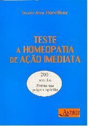 TESTE A HOMEOPATIA DE AÇAO IMEDIATA