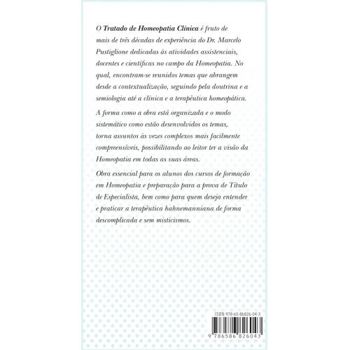TRATADO DE HOMEOPATIA CLÍNICA