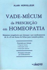 VADEMECUM DE PRESCRIÇÃO EM HOMEOPATIA