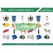 KIT 01 - 06 PRANCHAS JOGOS DA MEMÓRIA FONEMAS PLOSIVOS