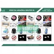 KIT 04 - 05 PRANCHAS JOGOS DA MEMÓRIA GRUPOS COM L - cc(l)v - FORMATO DIGITAL