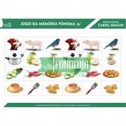 KIT 07 - 33 PRANCHAS JOGOS DA MEMÓRIA COMPLETO TODOS FONEMAS, ARQUIFONEMAS E GRUPOS