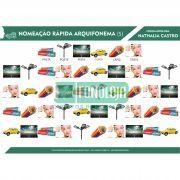 KIT 11 - NOMEAÇÃO RÁPIDA ARQUIFONEMAS E VIBRANTES