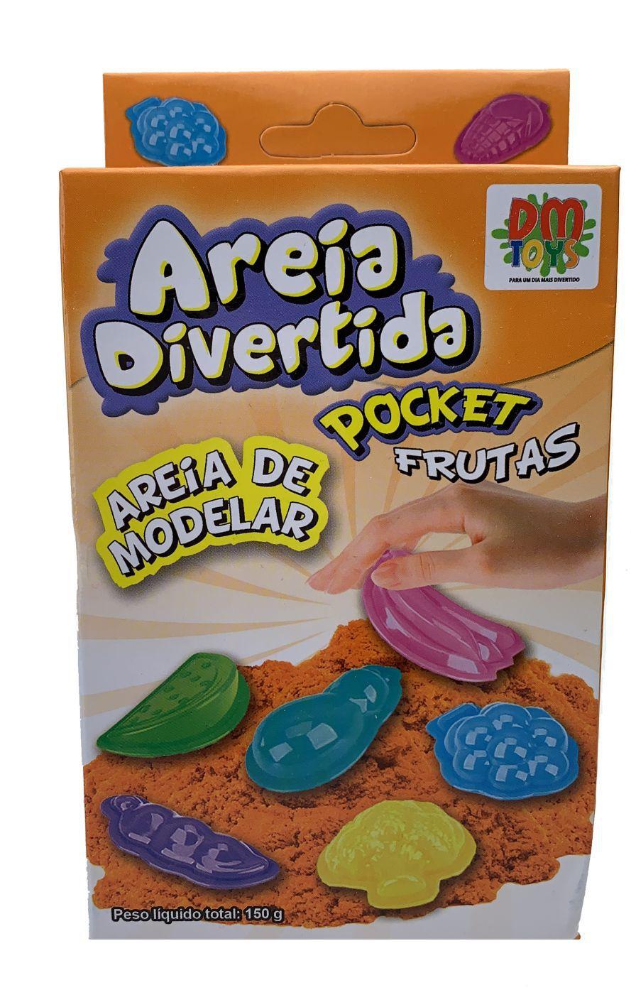 AREIA DE MODELAR - AREIA MÁGICA 150g E 300g
