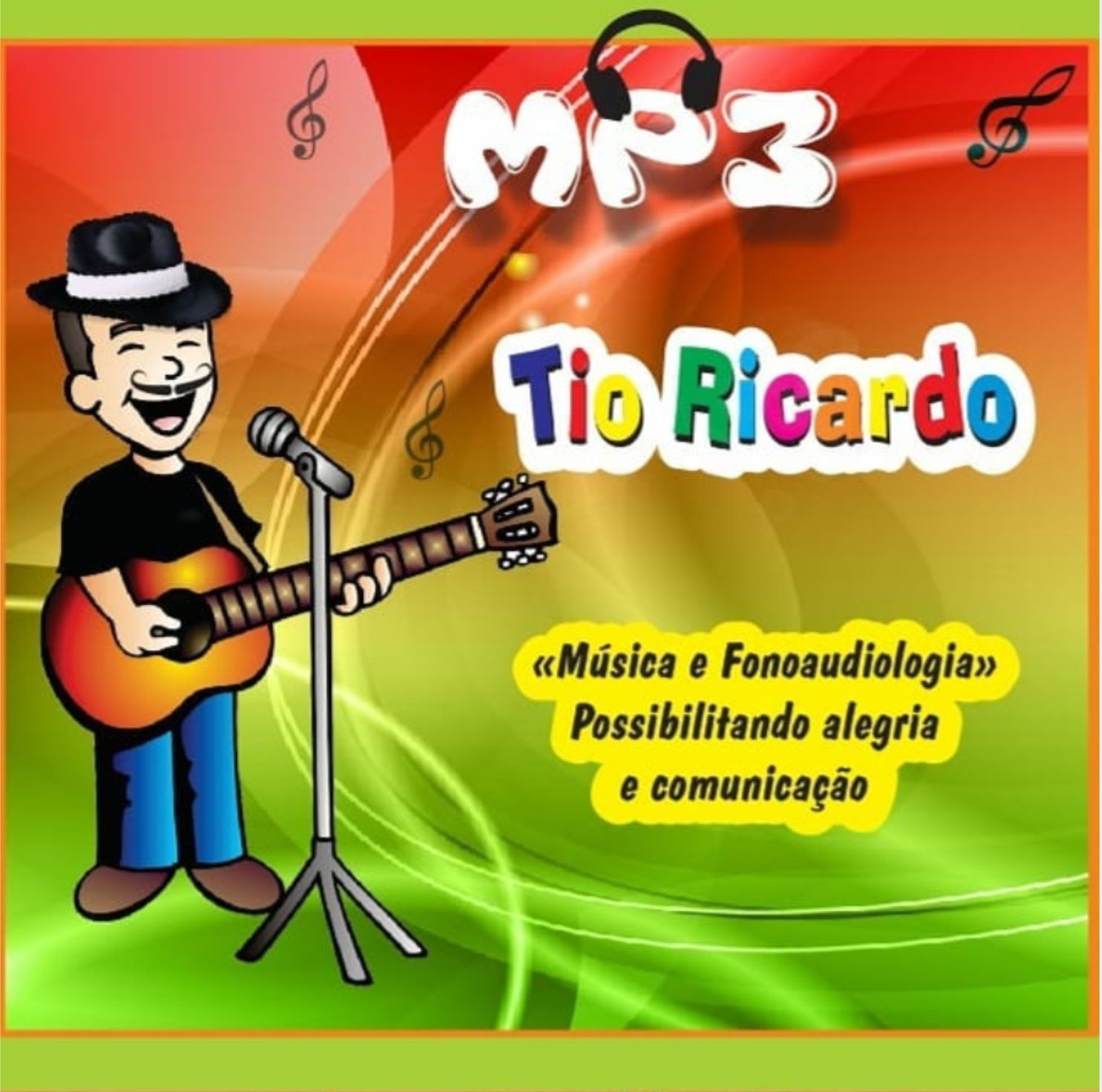 MUSICOTERAPIA TIO RICARDO CD MÚSICAS TERAPÊUTICAS