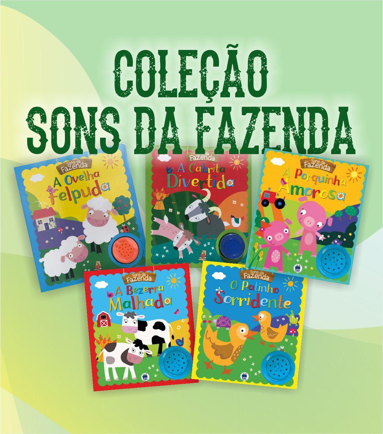 COLEÇÃO COMPLETA SONS DA FAZENDA