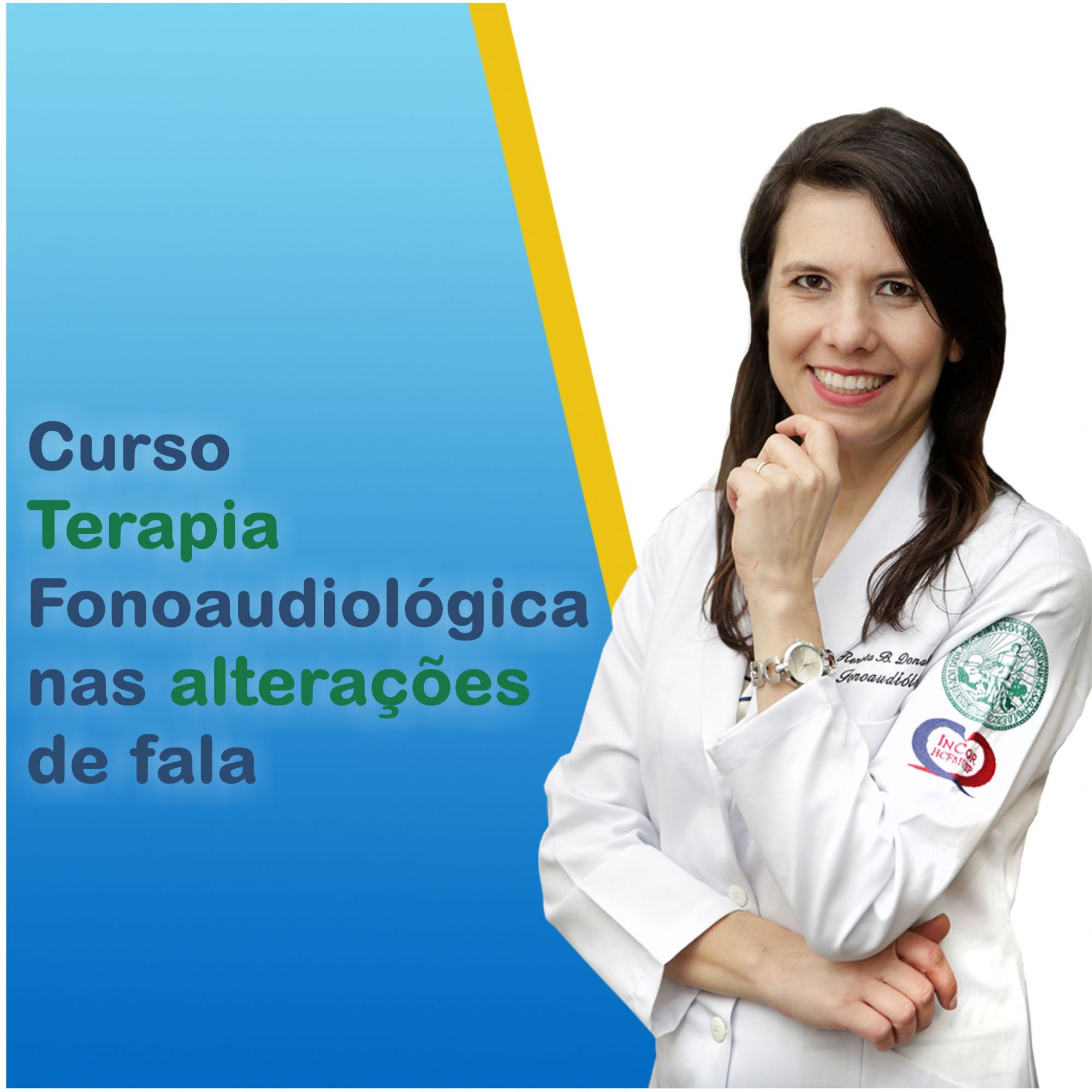 CURSO ONLINE - TERAPIA FONOAUDIOLÓGICA NAS ALTERAÇÕES DE FALA - RENATA DONADELI