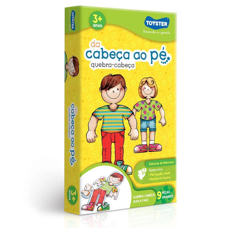 DA CABEÇA AO PÈ-QUEBRA CABEÇA