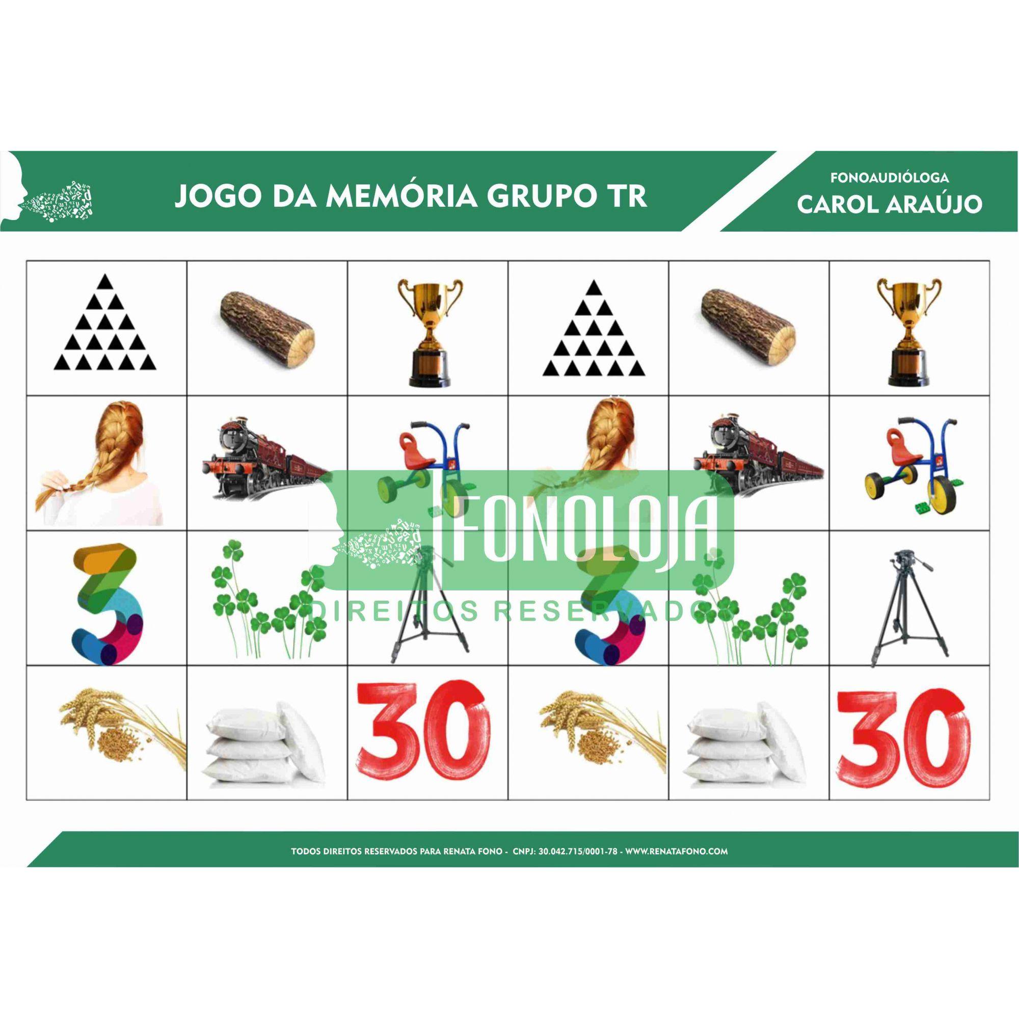 KIT 03 - JOGOS DA MEMÓRIA GRUPOS COM R - cc(r)v
