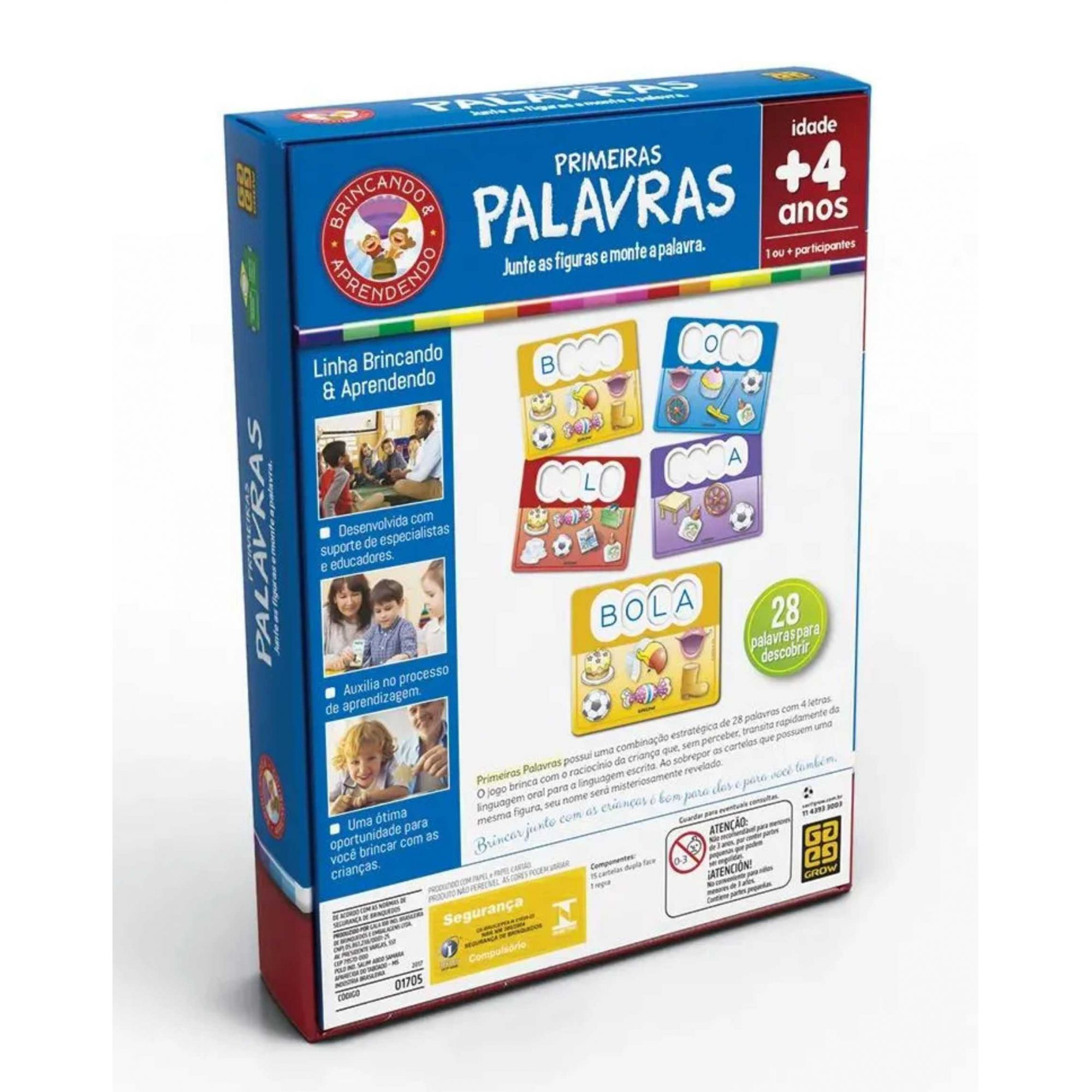 PRIMEIRAS PALAVRAS